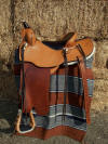 Boz Reining Saddle|Working Cow Horse Saddle|Flexible Tree Saddle
