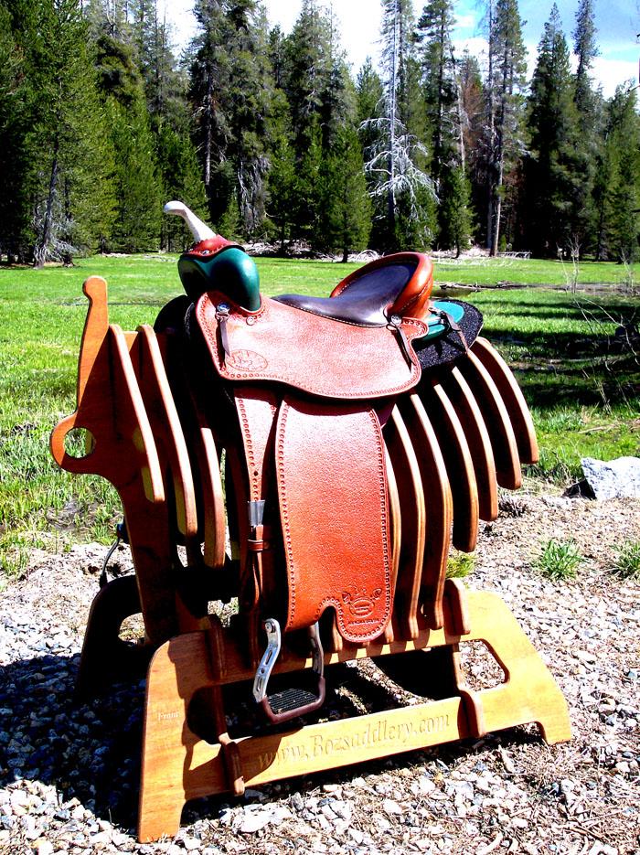 Boz Used Monte Foreman Balanced Ride Saddles